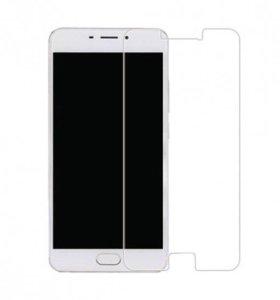 Защитное стекло 2.5D на Meizu M5 Note, (9H+)