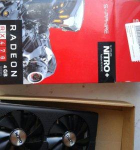 Видеокарта RX 470 4gb