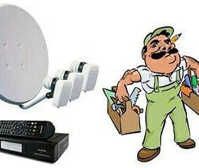 Установка спутникового и цифрового ТВ