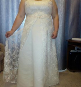 Платье свадебное+болеро
