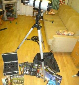 Новый телескоп и большой набор акуляров и фильтров