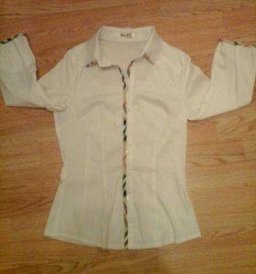 Рубашка/блузка под Бербарри