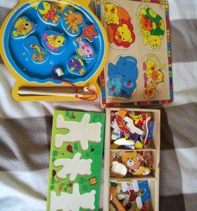 Деревянные игрушки бу