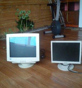 Монитор слева