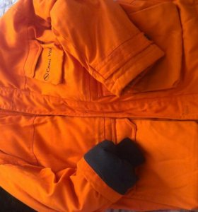 Тёплая куртка на зиму, большой размер