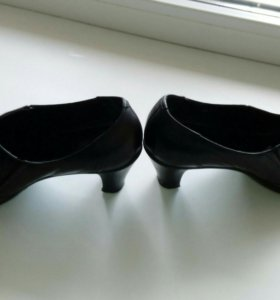 Туфли, натуральная кожа, размер 38