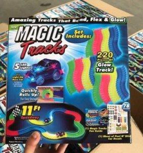 Маджик трек / magic track гоночная трасса 220 дет.