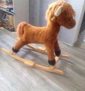 Продам лошадку качалку !