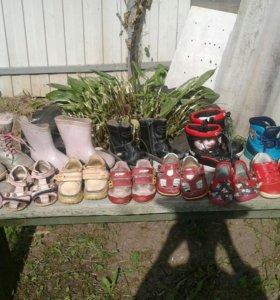 Пакет детской обуви 20-24 р-р