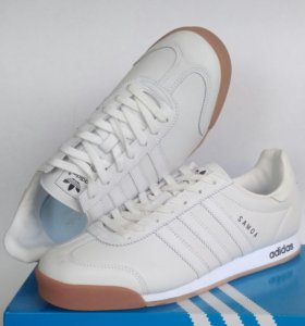 КРОССОВКИ adidas samоa leather white