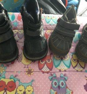 Ботинки на мальчика👍состоянии