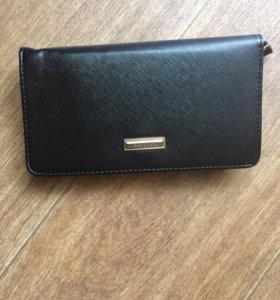 Мужское портмоне-сумка