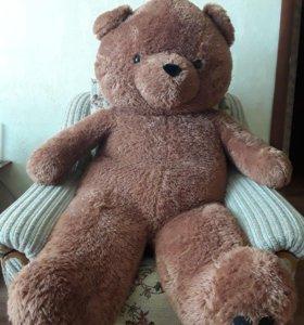 Большая мягкая игрушка, медведь