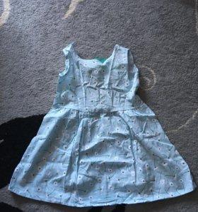 Новое платье х/б