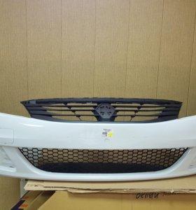 бампер передний Renault Logan 2 (10-14)