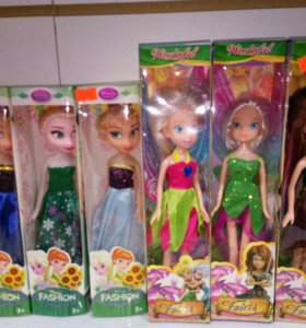 Куклы из мультов