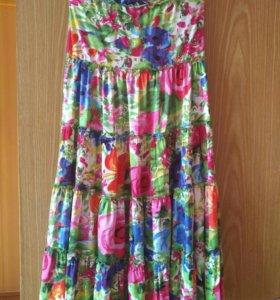 Юбка и платье