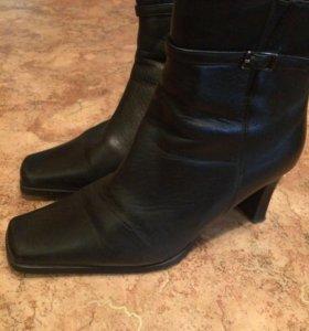 Ботинки женские натуральная кожа 40 размер