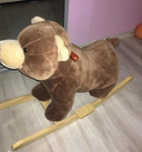 Медвежонок качалка
