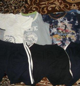 Шорты,футболки,майки.