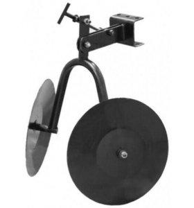 Окучник Каскад дисковый со сцепкой для мотоблока
