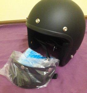 Мото шлем ретро