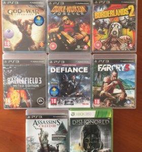 Игры на PS3 и Xbox 360