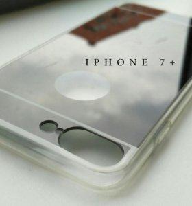 Чехол Стекло iPhone 6, 7, 7+
