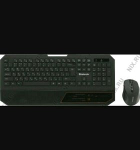 Беспроводной игровой комплект клавиатура + мышь