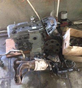 Двигатель Тойота Авенсис на разбор