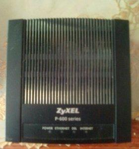 ZyXEl P-600 series