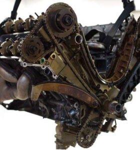 Двигатель БМВ M62 в разборе по запчастям