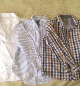 Рубашки для мальчика 122-128
