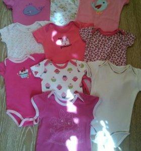 Вещи пакетом для девочки от 3 месяцев до года