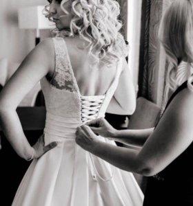 свадебное платье to be bride 44 размер