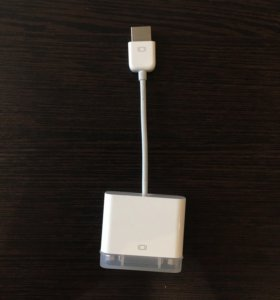 Адаптер Apple Micro DVI-DVI