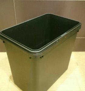 Новое ведро пластиковое для мусора Икея