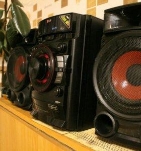 LG CM4335T музыкальный центр с Bluetooth!