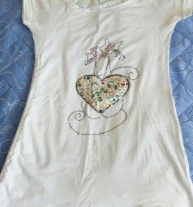 Женская футболка!.