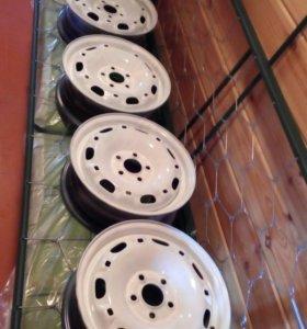 4 диска штамповка на VW Polo R14