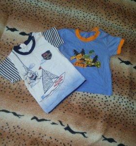 2 футболочки