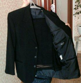 Пиджак черный/50-52