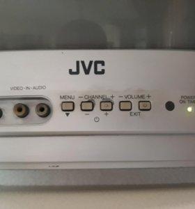 Телевизор JVC 36см диагональ