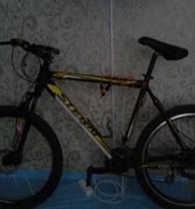 Скоростной велосипед на запчасти