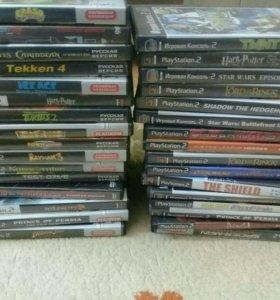 Playstation 2 + 32 игры