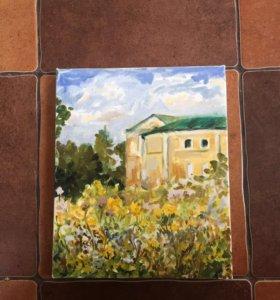 Картина маслом на холсте