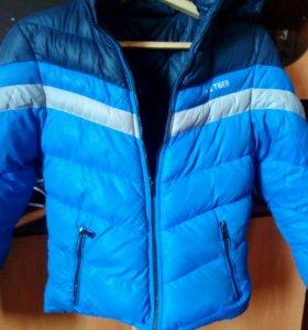 Куртка зимняя двухсторонняя( пуховик )
