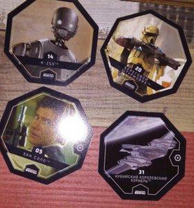 Star Wars коллекционные значки
