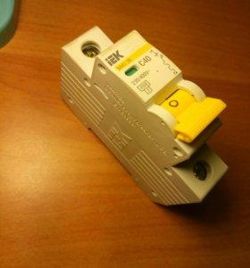 Автоматический выключатель 40А