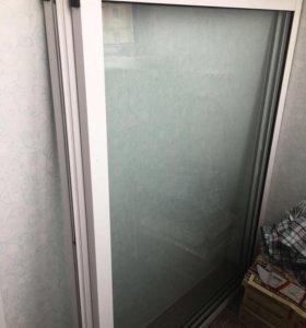 Алюминиевые раздвижные окна на лоджию